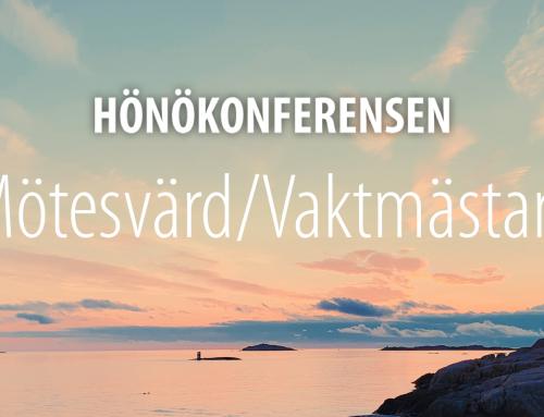 Hönökonferensen Mötesvärdar/Vaktmästare